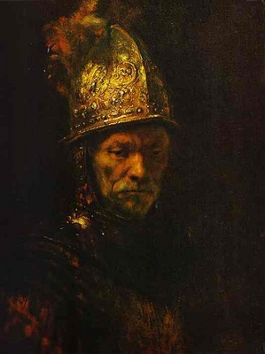 Rembrandt Man in a Gold Helmet