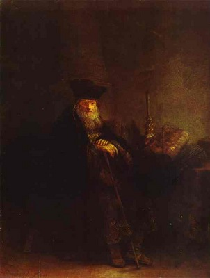 Rembrandt Old Rabbi