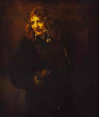 Rembrandt Portrait of Nicolas Bruyningh
