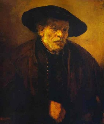 Rembrandt Portrait of Rembrandts Brother, Andrien van Rijn