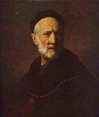 Rembrandt Portrait of Rembrandts Father