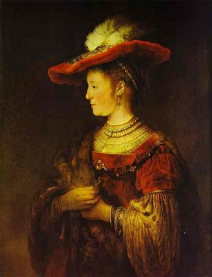 Rembrandt Portrait of Saskia