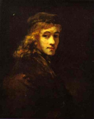 Rembrandt Portrait of Titus, the Artists Son