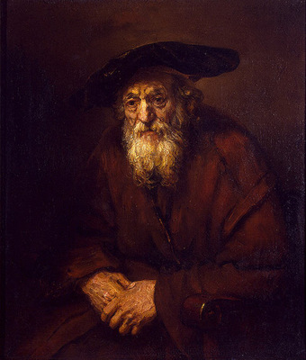 Rembrandt Portrait of an Old Jew, 1654, 109x85 cm, Eremitage