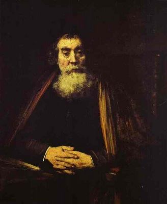 Rembrandt Portrait of an Old Man The Rabbi