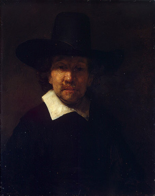 Rembrandt Portrait of the Poet Jeremias de Decker, 1666, 71x
