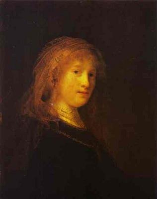 Rembrandt Saskia van Uilenburgh, the Wife of the Artist