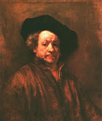 Rembrandt Self Portrait, 1660, Metropolitan museum of art, N