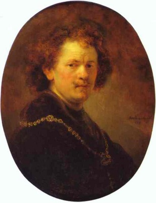 Rembrandt Self Portrait Bareheaded