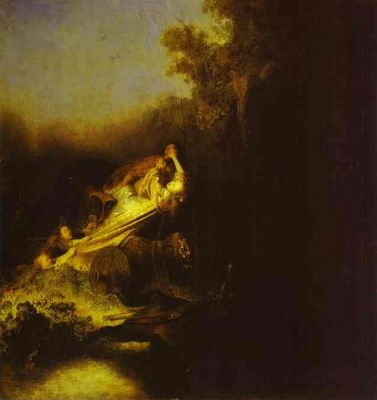 Rembrandt The Abduction of Proserpine