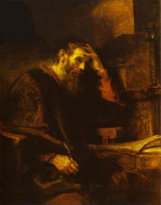 Rembrandt The Apostle Paul