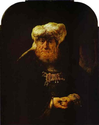 Rembrandt The King Uzziah Stricken with Leprosy