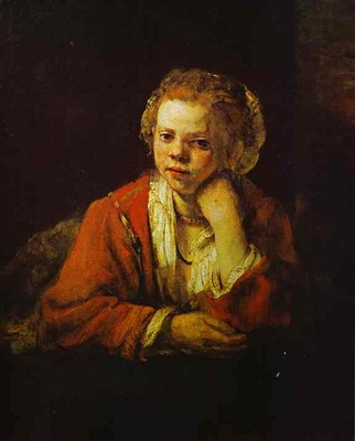Rembrandt Young Girl at the Window
