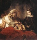 Jacob Blessing the Children of Joseph