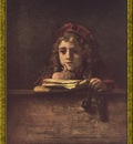 PO Vp S1 60 Rembrandt Titus le fils du peintre