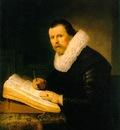 REMBRANDT A SCHOLAR 1631 EREMITAGET