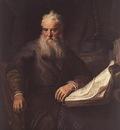 REMBRANDT APOSTLE PAUL 1635 KUNSTHISTORISCHES MUSEUM, VIENNA