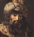REMBRANDT DAVID AND URIAH DETALJ 2 1665 EREMITAGET