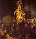 REMBRANDT DESCENT FROM THE CROSS 1634 EREMITAGET