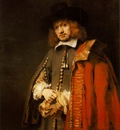 REMBRANDT JAN SIX 1654 SIX COLLECTION, AMSTERDAM