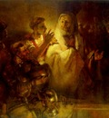REMBRANDT PETER DENOUNCING CHRIST 1660 RM AMSTERDAM