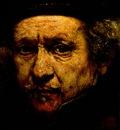 REMBRANDT SELF PORTRAIT 1659 DETALJ NG WASHINGTON