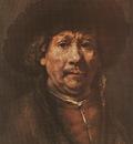 REMBRANDT SELFPORTRAIT 1656 58 KUNSTHISTORISCHES MUSEUM, VIE