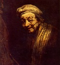 REMBRANDT SELFPORTRAIT 1665 WALLRAF RICHARTZ MUSEUM, COLOGNE