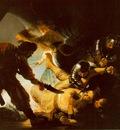 REMBRANDT THE BLINDING OF SAMSON 1636 STADELSCHES KUNSTINSTI