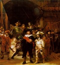 REMBRANDT THE NIGHTWATCH 1642 RIJKSMUSEUM, AMSTERDAM