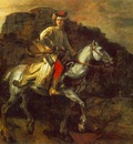 REMBRANDT THE POLISH RIDER 1655 FRICK COLLECTION NY