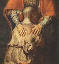 REMBRANDT THE RETURN OF THE PRODIGAL SON DETALJ 2 CA 1662 E