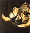 REMBRANDT The rich man from the parable 1626 Staatliche Muse