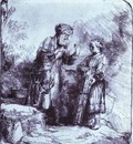 Rembrandt Abraham and Isaac