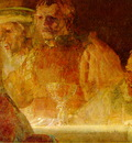 Rembrandt Batavernas trohetsed 1661 62, Detalj, 196x309 cm,