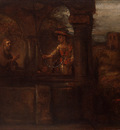 Rembrandt Christ and the Woman of Samaria, 1659, 60x75 cm, E