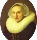 Rembrandt Cornelia Pronck, Wife of Albert Cuyper