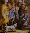 Rembrandt David Presenting the Head of Goliath to King Saul