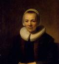 Rembrandt Portrait of Baertje Martens, circa 1640, 75x56 cm,
