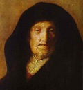 Rembrandt Portrait of Rembrandts Mother