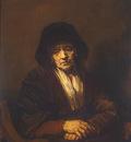 Rembrandt Portrait of an Old Woman, 1654, 109x84 cm, Eremita
