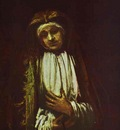 Rembrandt Portrait of an Old Woman