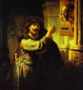 Rembrandt Samson Accusing His Father in Law