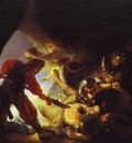 Rembrandt The Blinding of Samson