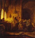Rembrandt The Parable of the Laborers in the Vineyard