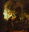Rembrandt Tobias Returns Sight to His Father