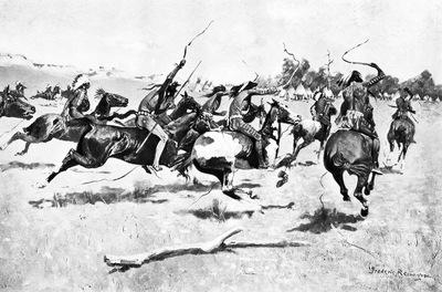 Fr 008 The Pony War Dance FredericRemington sqs