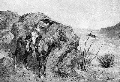 Fr 028 An Apache Indian FredericRemington sqs