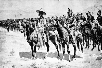 Fr 052 The Mexican Major FredericRemington sqs