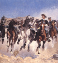 bs ahp Frederic Remington Dismounted